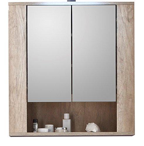 Bevorzugt Trendteam 1408-503-26 Badezimmer Spiegelschrank Spiegel Star, 70 x SJ56